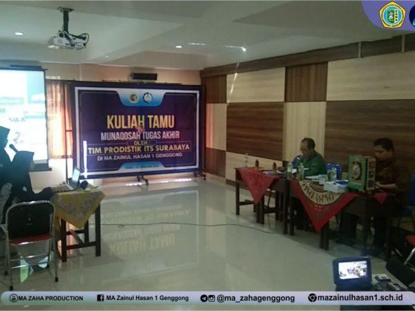 Uji Karya Santri Prodistik di PP. Zainul Hasan Genggong